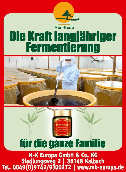 Die Kraft langjähriger Fermentierung für die ganze Familie - Man-Koso Premium