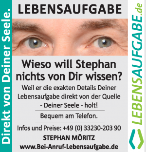 Stephan Möritz - Bei Anruf Lebensaufgabe - Direkt von deiner Seele
