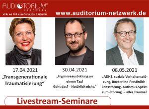 Livestream-Seminare von Auditorium Netzwerk