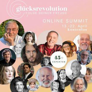 """Online-Summit """"Glücksrevolution"""""""