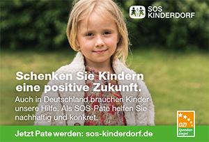 Schenken Sie Kindern eine Zukunft - durch eine Spende für SOS-Kinderdorf!